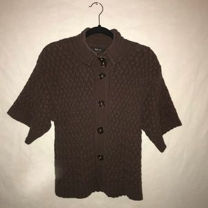 Style & Co. Chunky Brown Cardigan - Medium